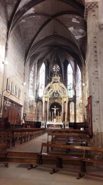 Beziers saint aphrodise choeur